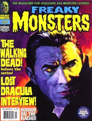 Freaky Monsters Magazine #13