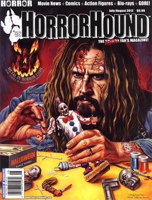 HorrorHound #36 Jul / Aug 2012