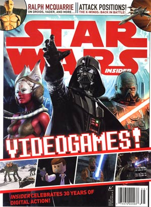 Star Wars Insider #135 Aug / Sep 2012 Newsstand Edition