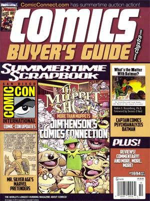Comics Buyers Guide #1694 Oct 2012