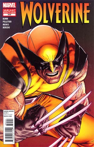 Wolverine Vol 4 #305 Cover B Incentive Steve McNiven Variant Cover