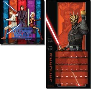 Star Wars The Clone Wars 2013 12x12-Inch Wall Calendar