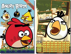 Angry Birds 2013 11x17-Inch Spiral Wall Calendar