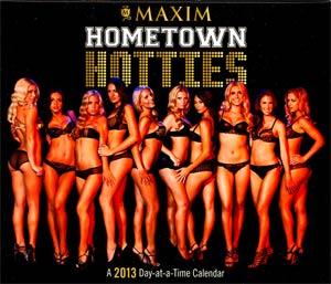 Maxim 2013 6x5-Inch Page-A-Day Calendar