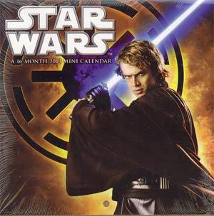 Star Wars Saga 2013 6x6-Inch Mini Wall Calendar