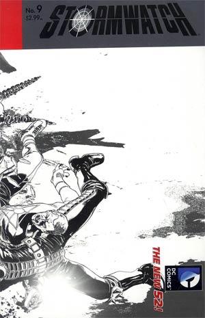 Stormwatch Vol 3 #9 Cover B Incentive Miguel Sepulveda Sketch Cover