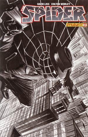 Spider #1 Incentive Alex Ross Sketch Cover