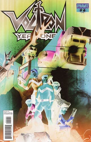 Voltron Year One #2 Cover B Incentive Admira Wijaya Negative Art Cover