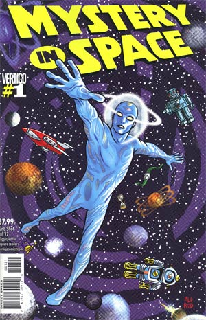 Mystery In Space Vol 3 #1 Incentive Mike Allred Variant Cover