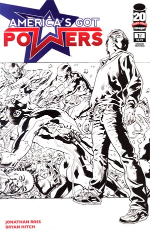 Americas Got Powers #1 Cover B 2nd Ptg Variant Cover
