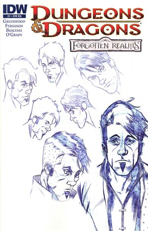 Dungeons & Dragons Forgotten Realms #1 Cover C Incentive Character Design Variant Cover