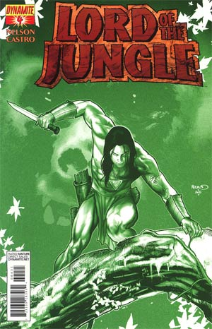 Lord Of The Jungle #4 Incentive Paul Renaud Jungle Green Cover