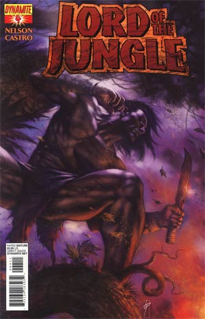 Lord Of The Jungle #4 Regular Lucio Parrillo Cover