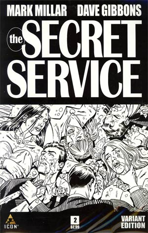 Secret Service #2 Cover B Incentive Dave Gibbons Sketch Cover