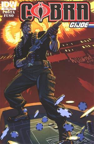 Cobra #13 Incentive David Williams Variant Cover