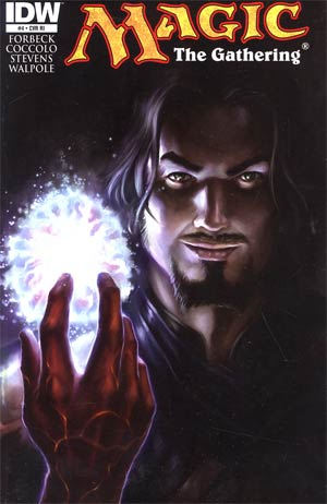 Magic The Gathering #4 Cover B Incentive Tyler Walpole Variant Cover