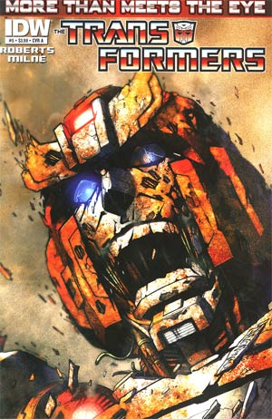 Transformers More Than Meets The Eye #5 Regular Cover A