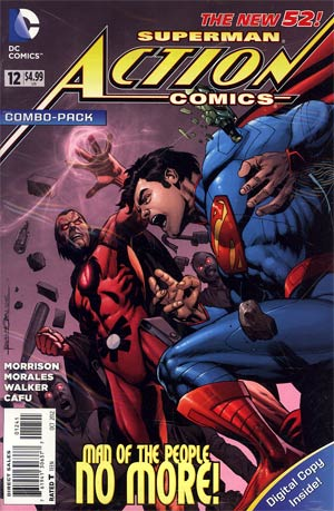 Action Comics Vol 2 #12 Cover B Combo Pack With Polybag