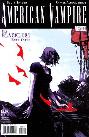 American Vampire #30 Cover A Regular Rafael Albuquerque Cover