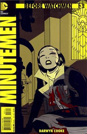 Before Watchmen Minutemen #3 Regular Darwyn Cooke Cover