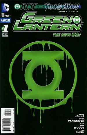 Green Lantern Vol 5 Annual #1 1st Ptg