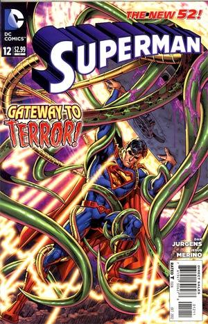 Superman Vol 4 #12 Regular Dan Jurgens Cover