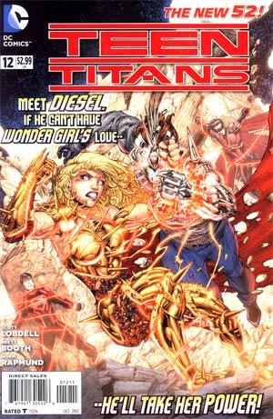 Teen Titans Vol 4 #12 Regular Brett Booth Cover