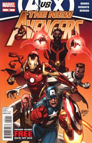 New Avengers Vol 2 #29 (Avengers vs X-Men Tie-In)