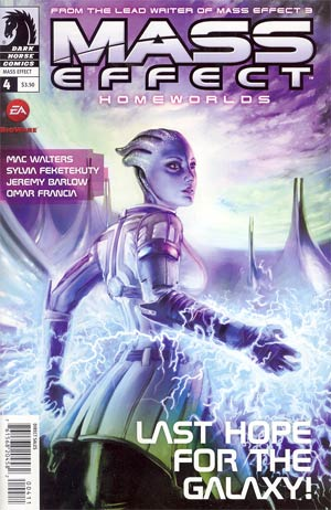 Mass Effect Homeworlds #4 Regular Anthony Palumbo Cover
