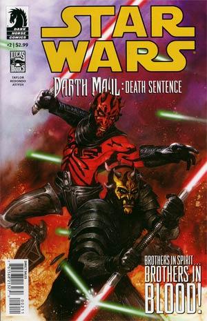 Star Wars Darth Maul Death Sentence #2