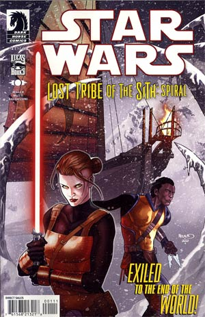 Star Wars Lost Tribe Of The Sith Spiral #1