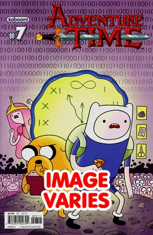 DO NOT USE Adventure Time #7 Regular Cover (Filled Randomly With 1 Of 2 Covers)