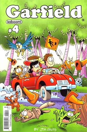 Garfield #4 Regular Gary Barker Cover