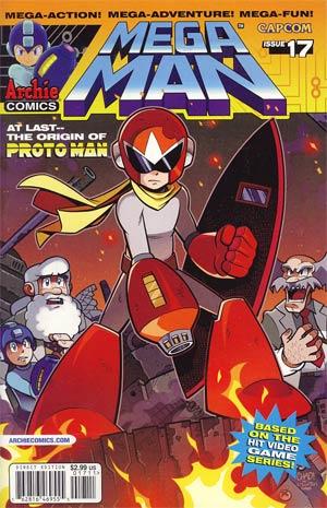Mega Man Vol 2 #17 Regular Cover