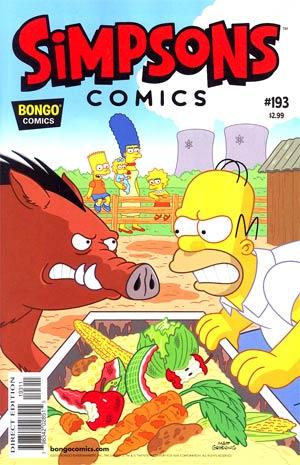 Simpsons Comics #193