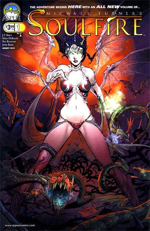 Soulfire Vol 4 #1 Cover A Mike DeBalfo