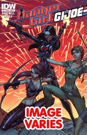 DO NOT USE Danger Girl GI Joe #2 Regular Cover (Filled Randomly With 1 Of 2 Covers)