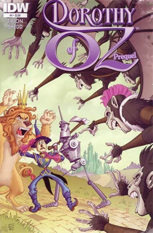 Dorothy Of Oz Prequel #4 Regular Eric Shanower Cover