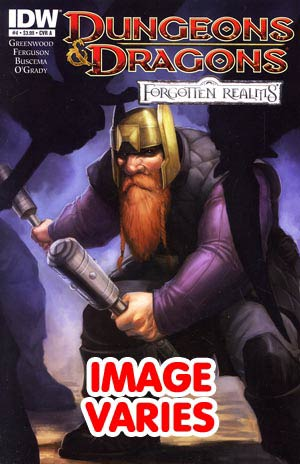 DO NOT USE Dungeons & Dragons Forgotten Realms #4 Regular Cover (Filled Randomly With 1 Of 2 Covers)