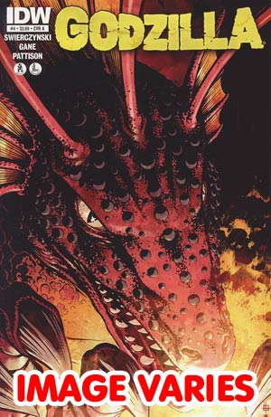 DO NOT USEGodzilla Vol 2 #4 Regular Cover (Filled Randomly With 1 Of 2 Covers)