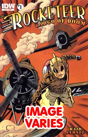 DO NOT USE Rocketeer Cargo Of Doom #1 Regular Cover (Filled Randomly With 1 Of 2 Covers)