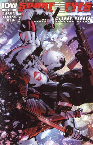 Snake Eyes & Storm Shadow #16 Regular Alex Cal Cover