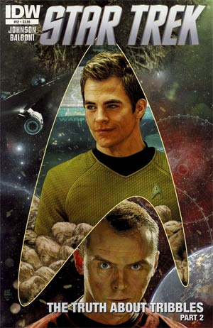 Star Trek (IDW) #12 Regular Tim Bradstreet Cover