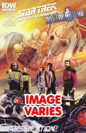 DO NOT USE Star Trek The Next Generation Doctor Who Assimilation2 #4 Regular Cover (Filled Randomly With 1 Of 2 Covers)