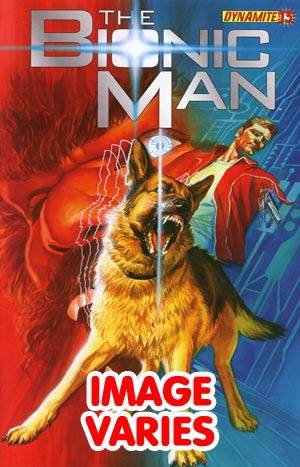 DO NOT USE Kevin Smiths Bionic Man #13 Regular Cover (Filled Randomly With 1 Of 2 Covers)