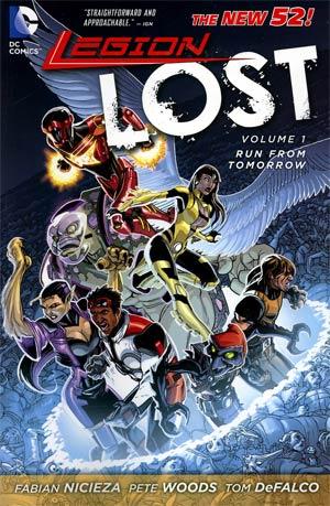 Legion Lost (New 52) Vol 1 Run From Tomorrow TP