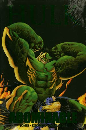 Hulk Abominable HC Premiere Edition Book Market Cover