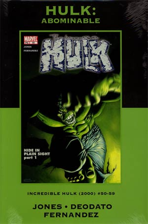 Hulk Abominable HC Premiere Edition Direct Market Cover