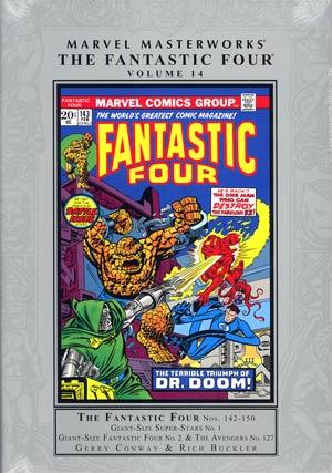 Marvel Masterworks Fantastic Four Vol 14 HC Regular Dust Jacket