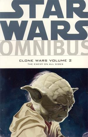 Star Wars Omnibus Clone Wars Vol 2 Enemy On All Sides TP